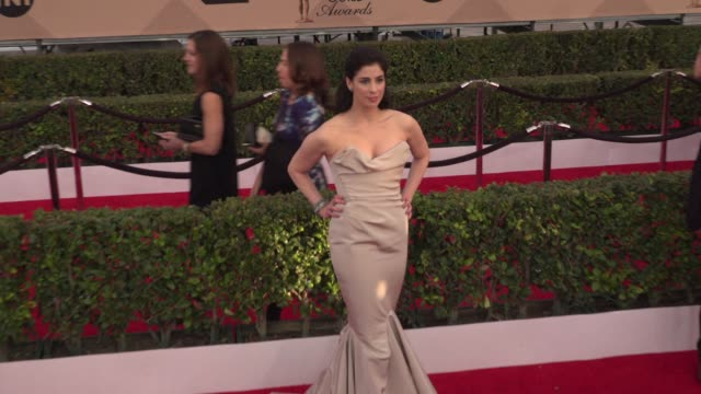 Sarah Silverman at 22nd Annual Screen Actors Guild Awards Arrivals in Los Angeles CA