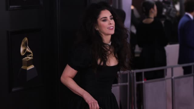 Sarah Silverman at 60th Grammy Awards Celebration Party at Madison Square Garden on January 28 2018 in New York City