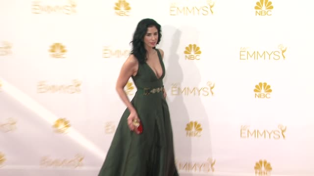 Sarah Silverman at 66th Primetime Emmy Awards Arrivals in Los Angeles CA