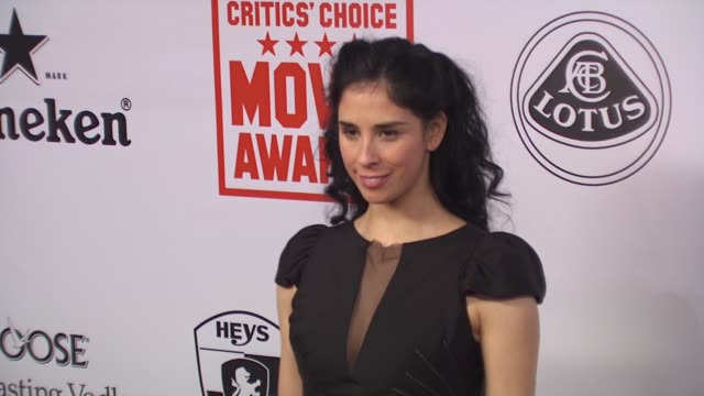Sarah Silverman at the 15th Annual Critics' Choice Movie Awards AfterParty at Hollywood CA