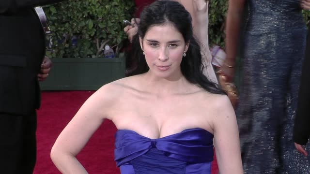 Sarah Silverman at the 61st Annual Primetime Emmy Awards Arrivals Part 4 at Los Angeles CA