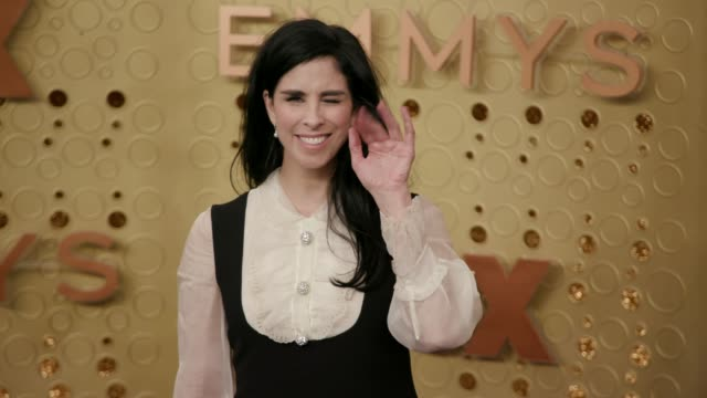 stockvideo's en b-roll-footage met sarah silverman at the 71st emmy awards at microsoft theater on september 22, 2019 in los angeles, california. - sarah silverman