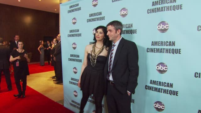 Sarah Silverman at the American Cinematheque's 2010 Award Show Honoring Matt Damon at Beverly Hills CA