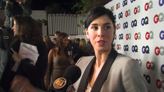 Sarah Silverman at the GQ Magazine's 2009 'Men Of The Year' Party at Los Angeles CA