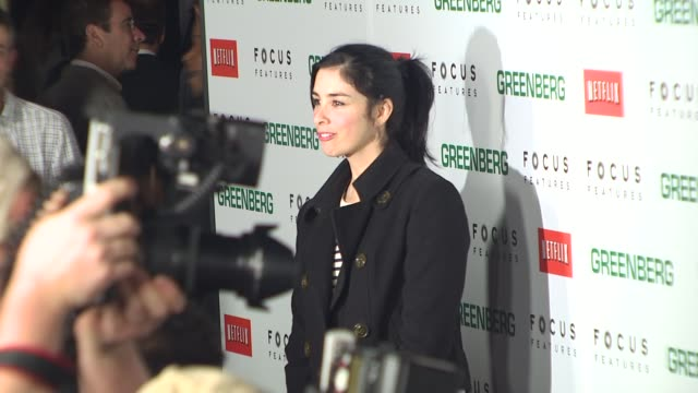 Sarah Silverman at the 'Greenberg' Premiere at Hollywood CA