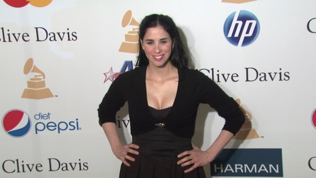 Sarah Silverman at the PreGRAMMY Gala Salute To Industry Icons With Clive Davis Honoring David Geffen at Beverly Hills CA