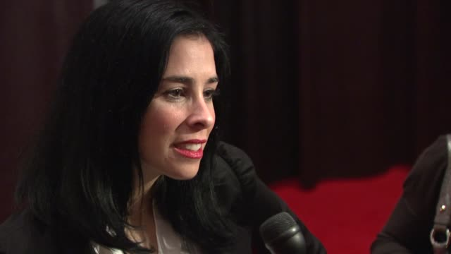 Sarah Silverman at the Quentin Tarantino Roasting at the New York Friars Club at New York NY