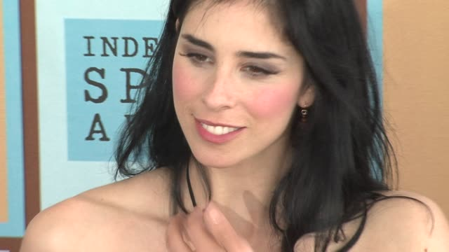 Sarah Silverman at the The 21st Annual IFP Independent Spirit Awards in Santa Monica California on March 4 2006