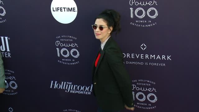 stockvideo's en b-roll-footage met sarah silverman at the the hollywood reporter's 2017 women in entertainment breakfast at milk studios on december 6, 2017 in hollywood, california. - sarah silverman