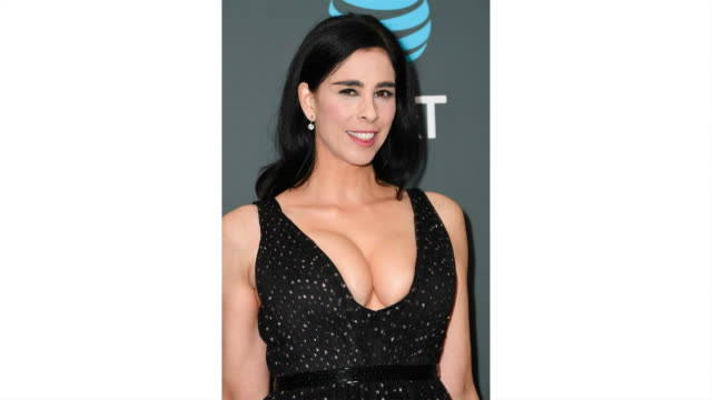 vidéos et rushes de sarah silverman attends the 24th annual critics' choice awards at barker hangar on january 13 2019 in santa monica california - critique