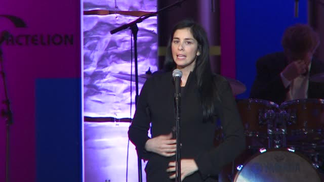 Sarah Silverman comedy at the Scleroderma Research Foundation's 'Cool Comedy Hot Cuisine' at Beverly Hills CA