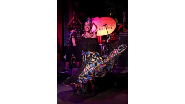 Sarah Sophia of MONOPHONICOS performs onstage at NPR AltLatino during the 2019 SXSW Conference and Festivals at Flamingo Cantina on March 15 2019 in...