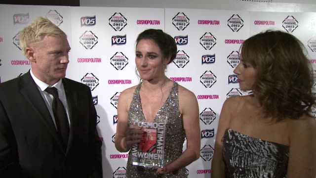 Sarah Storey on it being an honour meeting Alex Jones training at Cosmo Woman of the Year Awards 2012 at Victoria Albert Museum on October 30 2012 in...