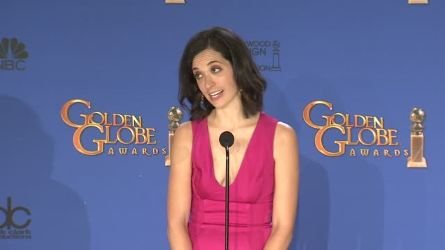 SPEECH Sarah Treem at the 72nd Annual Golden Globe Awards Press Room at The Beverly Hilton Hotel on January 11 2015 in Beverly Hills California