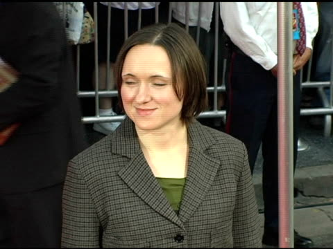 Sarah Vowell at the 'The Incredibles' Premiere at the El Capitan Theatre in Hollywood California on October 25 2004