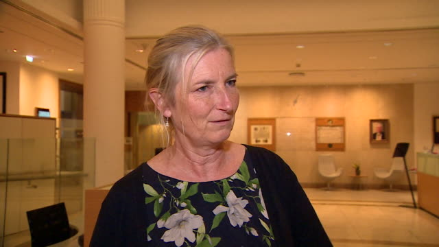 """sarah wollaston, chair of the health select committee, saying """"a taxpayer-funded nhs, free at the point of use"""" is something """"all political parties... - british liberal democratic party stock videos & royalty-free footage"""