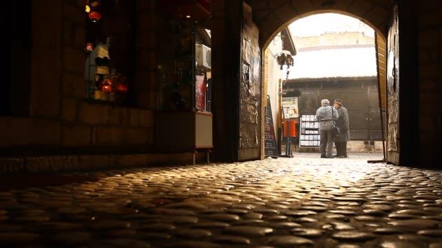 sarajevo old town: bascarsija - bosnia and hercegovina stock videos & royalty-free footage
