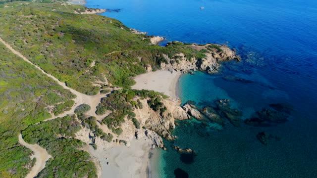 sardinia coast, italy - sardinien stock-videos und b-roll-filmmaterial