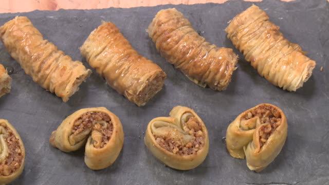 sare burma dessert - eastern european culture stock videos & royalty-free footage