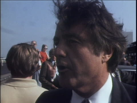sargent shriver campaigning robert sargent shriver, jr. hopes to learn about the peoples thoughts in the places that he visits. he is looking to... - united states and (politics or government) stock videos & royalty-free footage