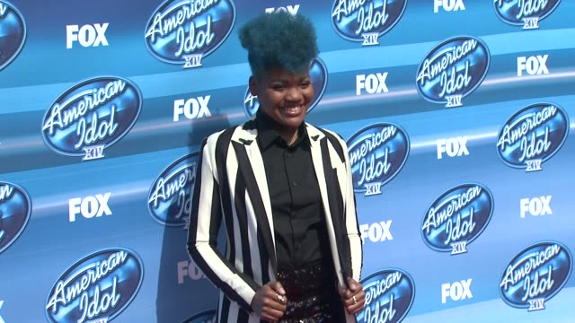 SarinaJoi Crowe at the 'American Idol' XIV Grand Finale Arrivals at Dolby Theatre on May 13 2015 in Hollywood California