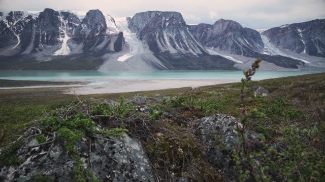 sarqap taserssua lake - greenland stock videos & royalty-free footage