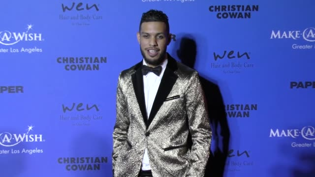 Sarunas J Jackson at the PAPER Magazine Runway Benefit For MakeAWish Foundation on October 24 2017 in Los Angeles California