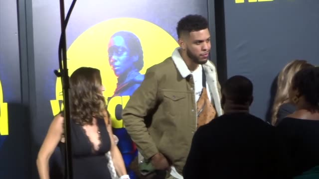 sarunas jackson outside the premiere of hbo's watchmen at the cinerama dome in hollywood in celebrity sightings in los angeles - cinerama dome hollywood stock videos and b-roll footage