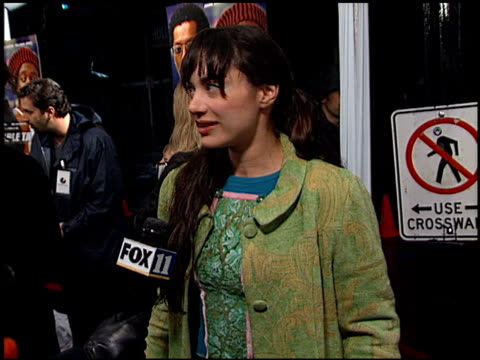 sascha knopf at the 'double take' premiere at the el capitan theatre in hollywood, california on january 10, 2001. - el capitan theatre stock videos & royalty-free footage