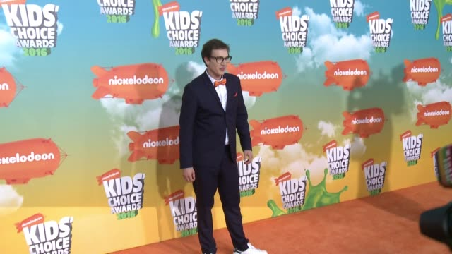 Sascha Quade at Nickelodeon's 2016 Kids' Choice Awards at The Forum on March 12 2016 in Inglewood California