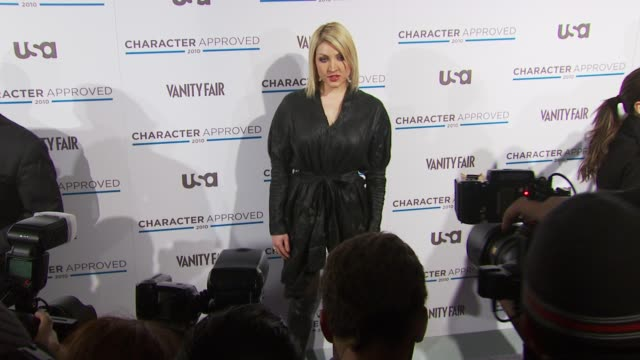 Sasha at the 2nd Annual Character Approved Awards Cocktail Reception at New York NY