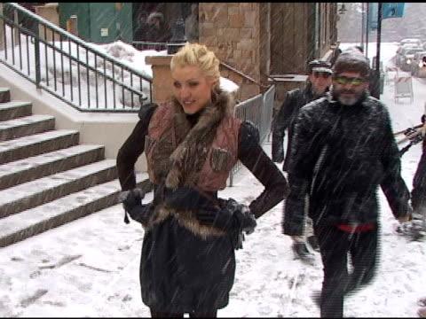 Sasha on Main Street at the Sundance Film Festival at the Celebrity Sightings in Park City Utah at Park City UT