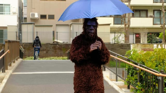 sasquatch in tokyo japan - alley stock videos & royalty-free footage