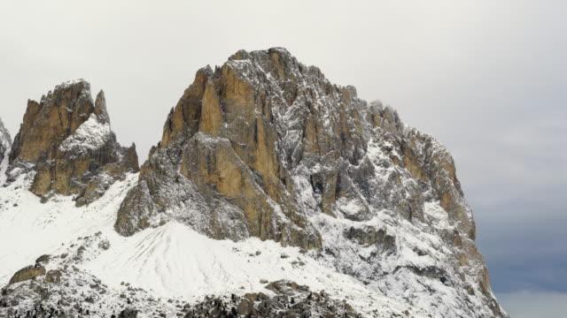 Sassolungo, Sella Pass, Mountain Range Dolomites, Italy, Europe