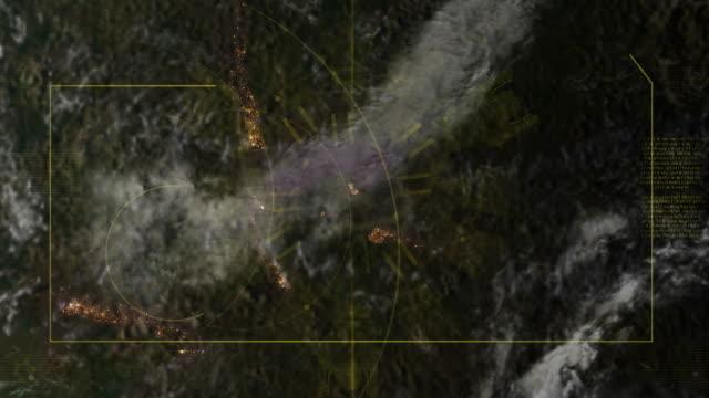 Vista satellitare