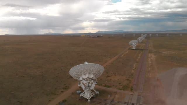 satellite array in new mexico - ranch stock videos & royalty-free footage