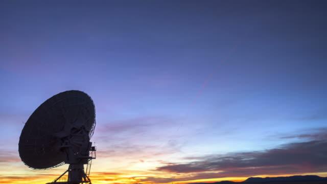 satellite array - vla - radar stock videos and b-roll footage