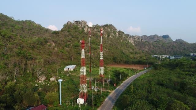vídeos y material grabado en eventos de stock de higth del satélite por encima de la gran montaña, foto de drone - red sea