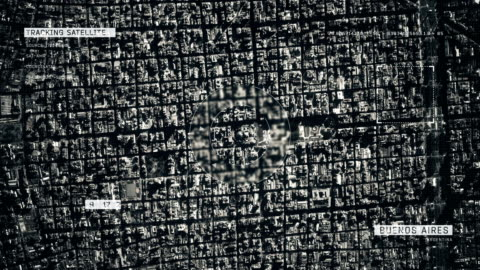 satellite image of buenos aires - argentinian ethnicity stock videos & royalty-free footage