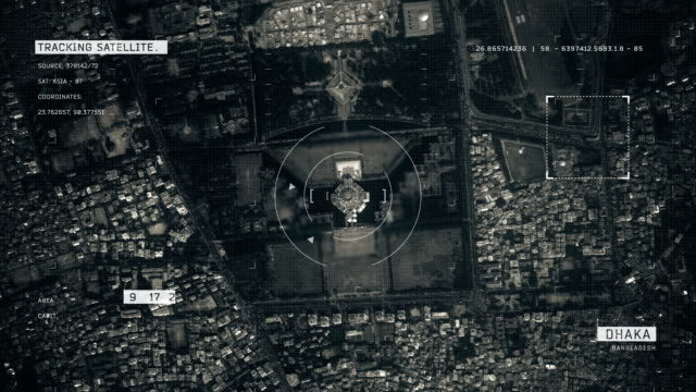 satellitenbild von dhaka - dhaka stock-videos und b-roll-filmmaterial