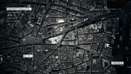 Satellite Image of Madrid