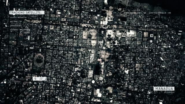 マナグアの衛星画像 - マナグア点の映像素材/bロール