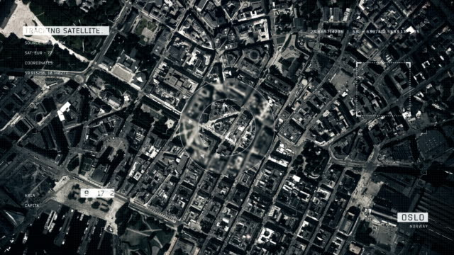 satellite image of oslo - politics stock videos & royalty-free footage