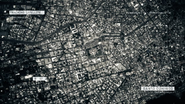 satellite image of santo domingo - patriotism stock videos & royalty-free footage