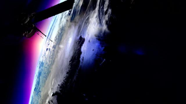 vídeos y material grabado en eventos de stock de vía satélite en órbita de la tierra - antena parte del cuerpo animal