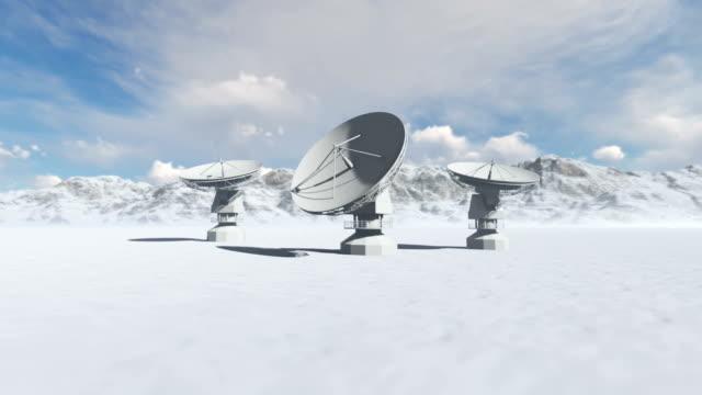 satellite technology - astronomy telescope stock videos & royalty-free footage