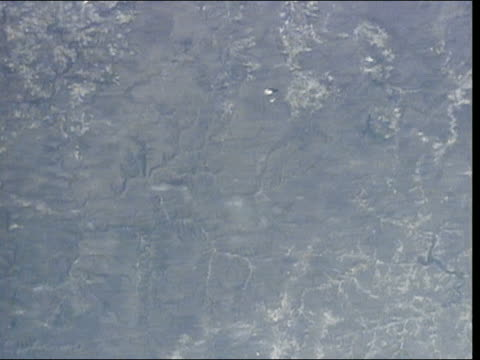 satellite view over lake ontario to delaware bay - 1997 stock videos & royalty-free footage