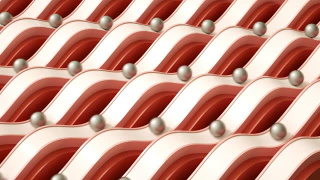 satisfying slides red (loop) - pastel stock videos & royalty-free footage