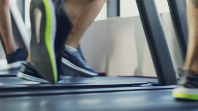 satisfying that need for speed - treadmill stock videos & royalty-free footage