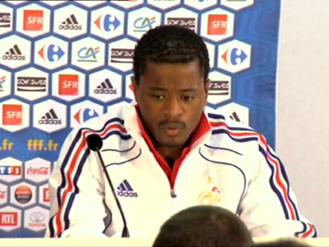 Saturday after a foulmouthed tirade at coach Raymond Domenech during the 20 defeat to Mexico French defender and team captain Patrice Evra spoke out...